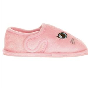 087131e119f wonder nation Shoes - Baby Girl Pink Bunny Slippers Size 5 - 6 New Tags